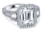 .75 ctw $3750 Channel Diamond Ring Setting
