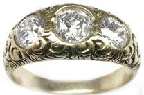 .50 ctw $2600 Gypsy flush Engagement Ring Setting