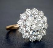 .40 ctw $2900 Cluster Diamond Ring Setting