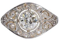.40 ctw $3200 Antique Diamond Ring Setting