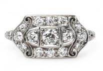 .80 ctw $3600 Edwardian Era Engagement Ring Setting