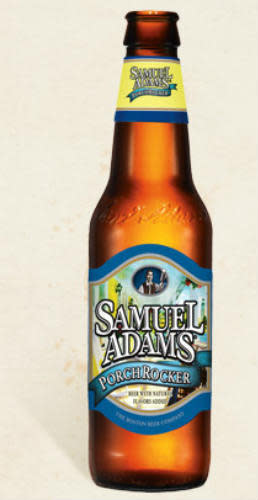 Awe Inspiring Samuel Adams Porch Rocker Ratebeer Caraccident5 Cool Chair Designs And Ideas Caraccident5Info