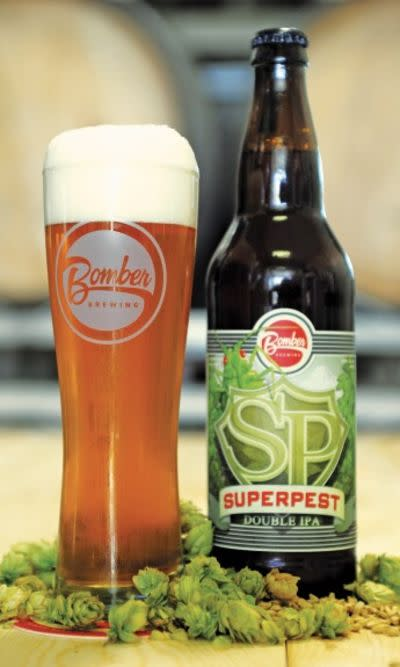 Bomber Superpest Double IPA • RateBeer