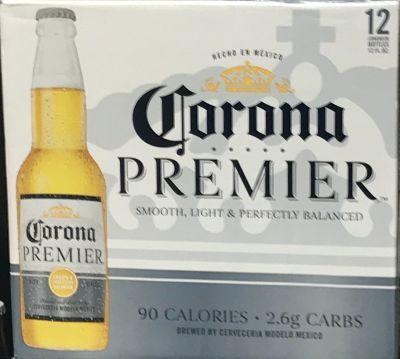 Calorias cerveza corona light