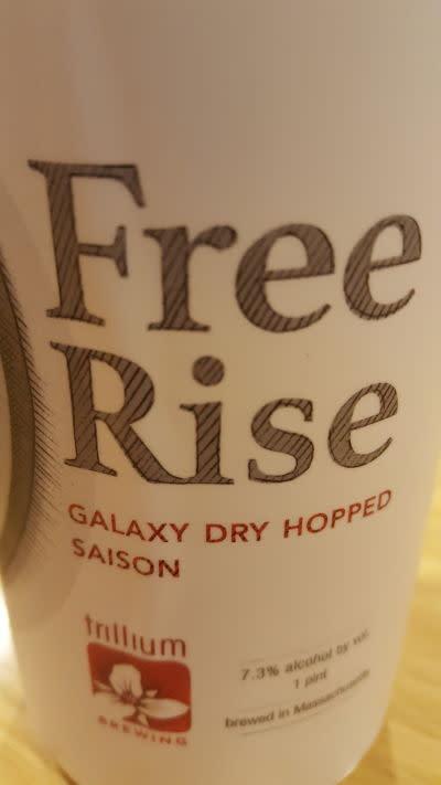Trillium Free Rise Galaxy Dry Hopped