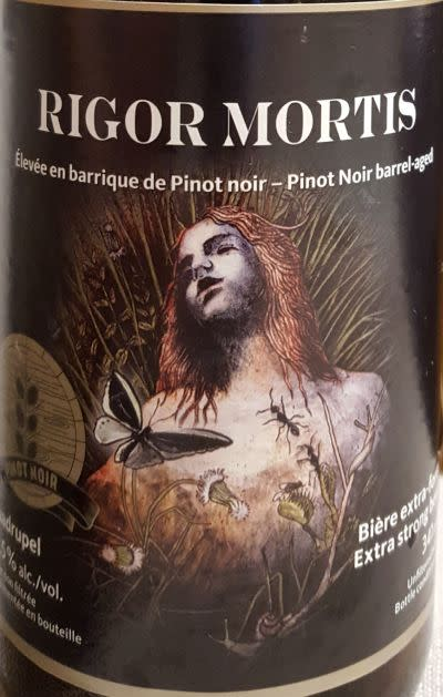 Dieu du Ciel! Rigor Mortis Abt (Pinot Noir)