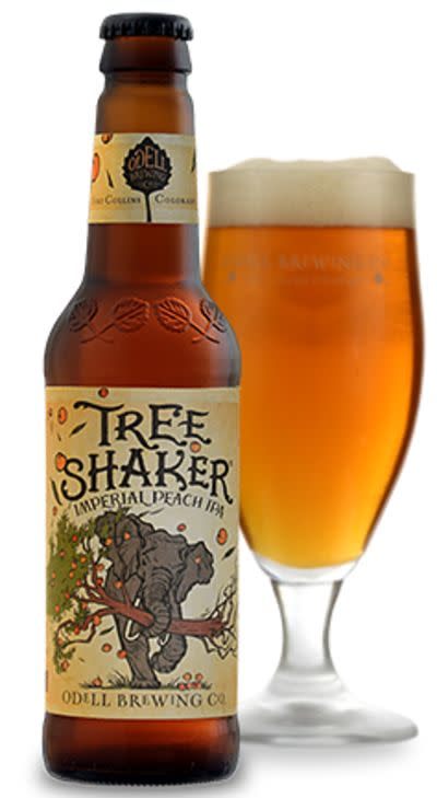 Odell Tree Shaker Imperial Peach IPA • RateBeer
