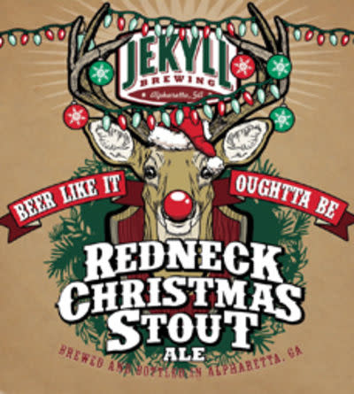 Redneck Christmas.Jekyll Redneck Christmas Stout Ratebeer