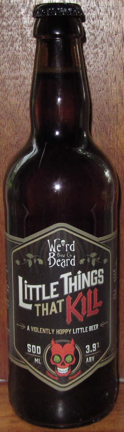 Weird Beard Little Things That Kill