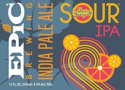 Image result for epic tart n juicy sour ipa ratebeer