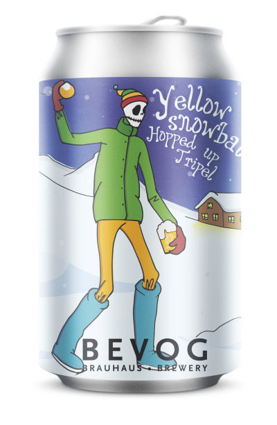 Bevog Who Cares Editions Yellow Snowball Hopped Up Tripel cfe61be1f01e