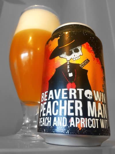 Beavertown Peacher Man Peach and Apricot Wit 8ff021a2ecdd