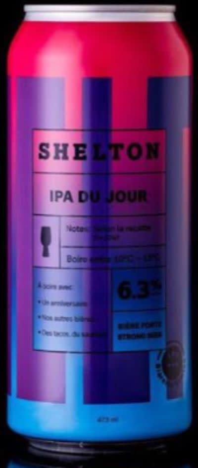 Shelton IPA du Jour - Citra Mosaïc Simcoe ecb375d52189