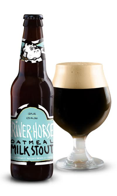 River Horse Oatmeal Milk Stout Ratebeer