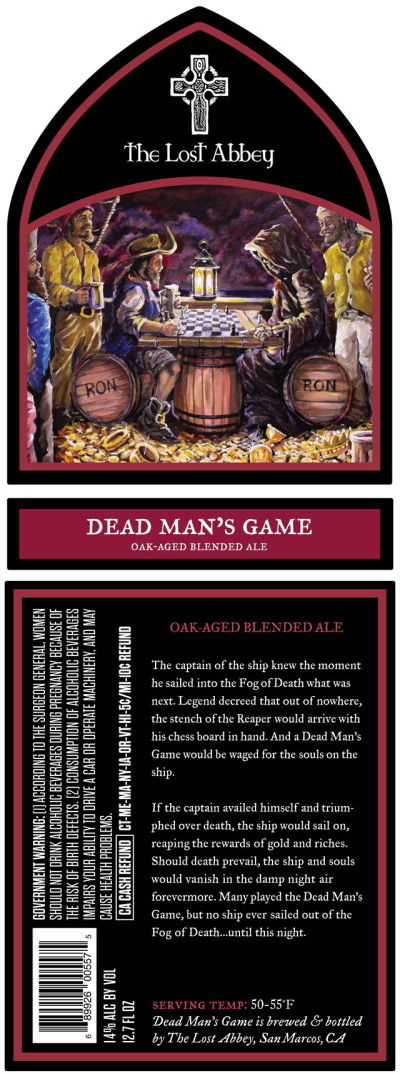 Lost Abbey Dead Man's Game