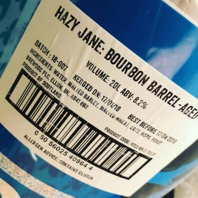 BrewDog Hazy Jane (Bourbon Barrel Aged)