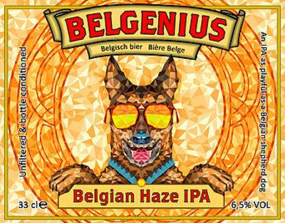 Belgenius Belgian Haze IPA • RateBeer