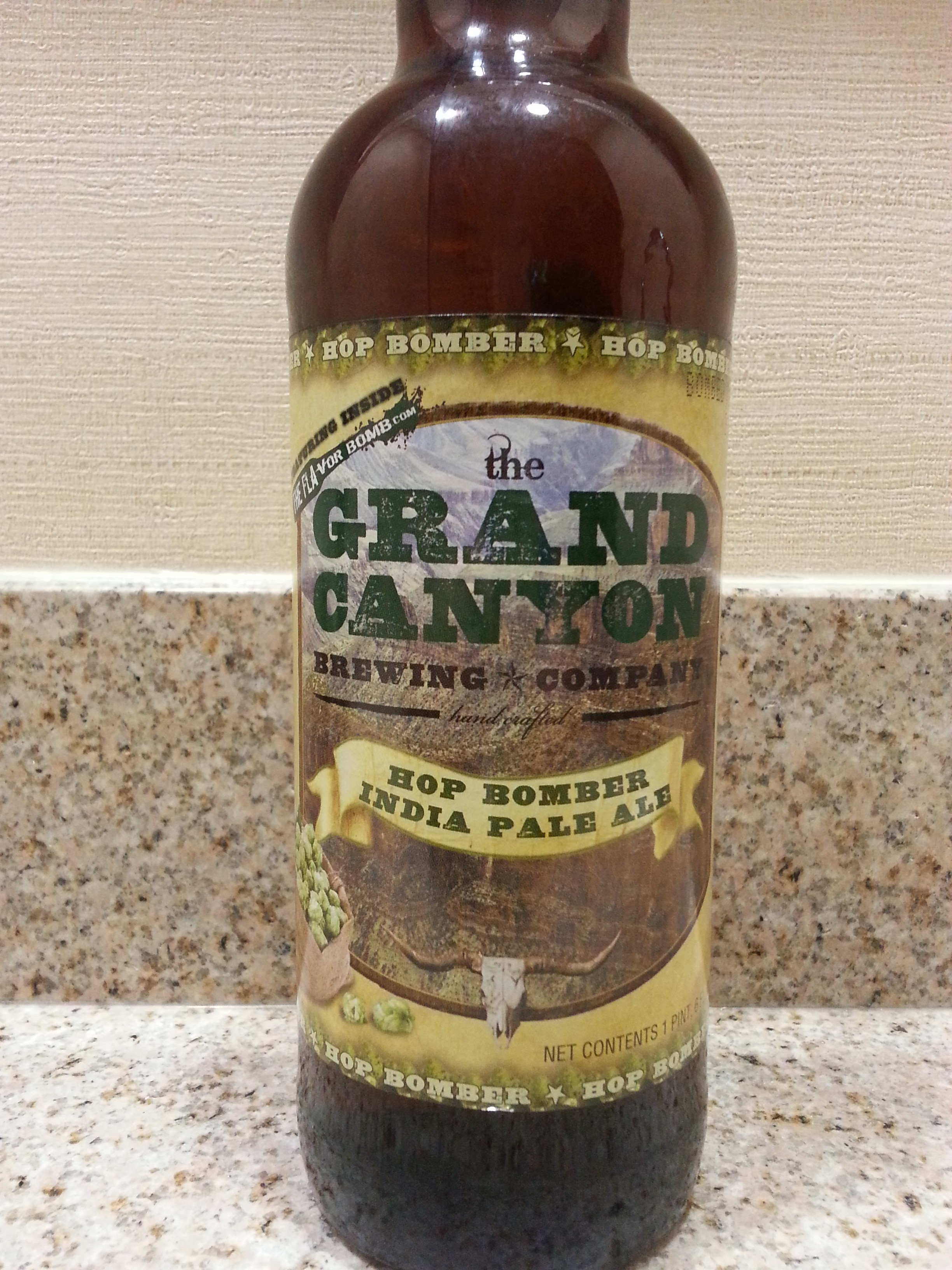 Grand Canyon Hop Bomber India Pale Ale
