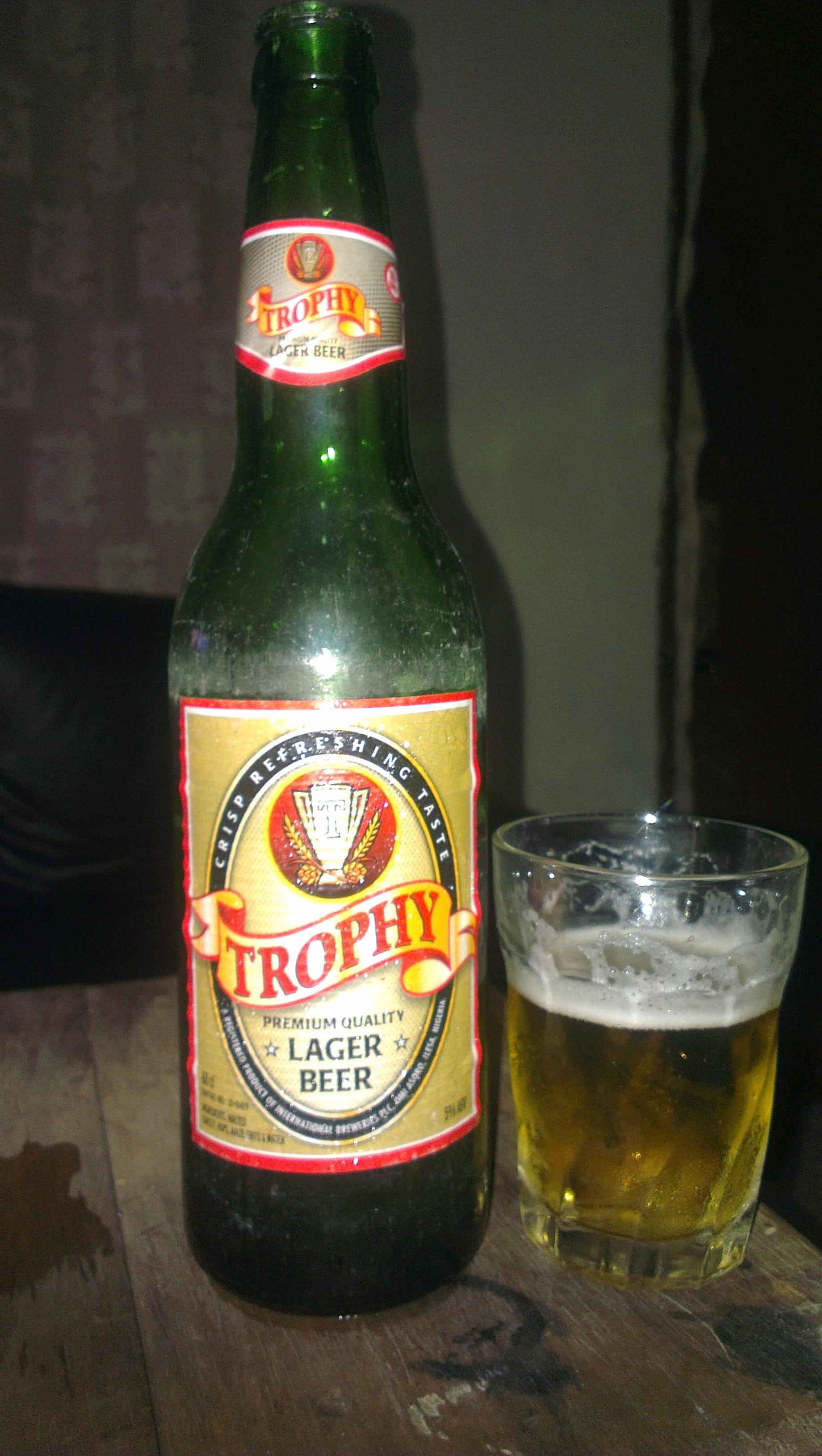 77ebf887 Trophy Premium Quality Lager Beer • RateBeer