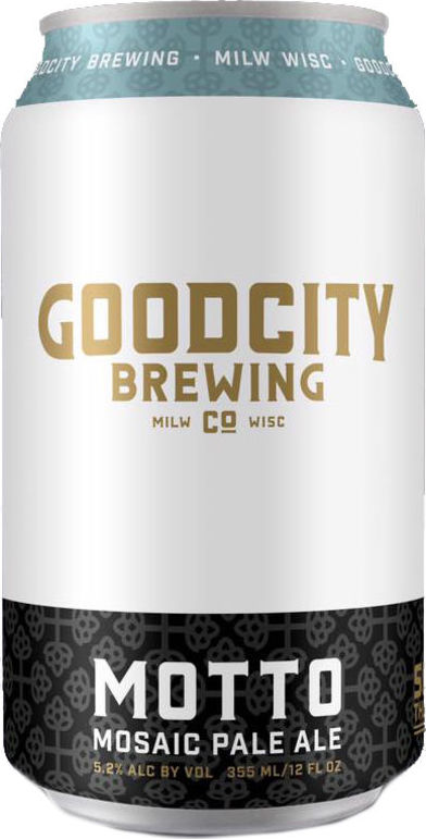 157deb0e0d4 Good City Motto Mosaic Pale Ale • RateBeer