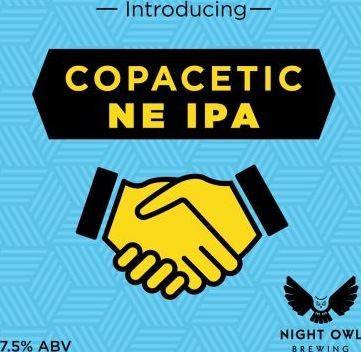 Night Owl Copacetic NE IPA