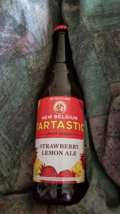 New Belgium Tartastic Strawberry Lemon