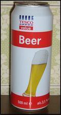 Tesco Value Beer