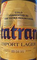 Tatran Export Lager (Ležiak 12°)