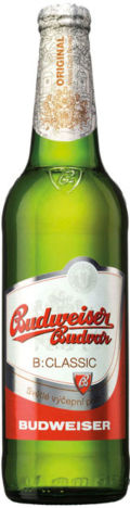 Budweiser Budvar B:Classic Svetlé Výčepní Pivo 10°