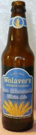 Wolaver's Ben Gleason's White Ale