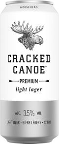 Moosehead Cracked Canoe