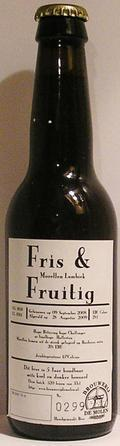 De Molen Fris & Fruitig Morellen Lambiek Bordeaux Barrel