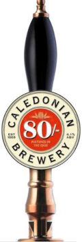 Caledonian 80/- (Pasteurised)