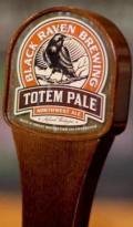 Black Raven Totem Northwest Pale