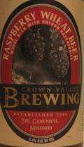 Crown Valley Raspberry Wheat Beer