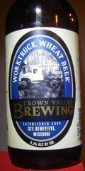 Crown Valley Worktruck Wheat Beer
