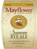 Mayflower Summer Rye Ale