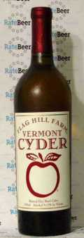 Flag Hill Farm Vermont Still Hard Cyder