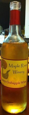 Maple River Winery Country Crabapple Wine