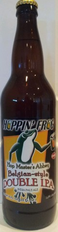 Hoppin' Frog Hop Masters Abbey Belgian-Style Double IPA