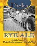 Dick's Rye Ale