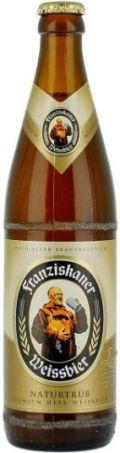 Franziskaner Hefe-Weissbier / Weissbier Naturtrub
