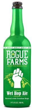 Rogue Farms Wet Hop Ale