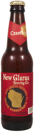 New Glarus Thumbprint Series Cran-bic Ale