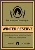 Bollington Winter Reserve