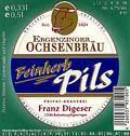 Ergenzinger Ochsenbräu Pils Feinherb