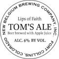 New Belgium Lips of Faith - Tom's Beer