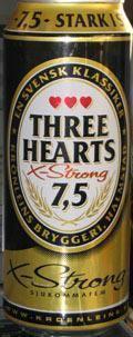 Three Hearts Extra Strong