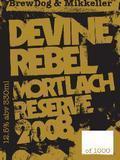 BrewDog / Mikkeller Devine Rebel Mortlach Reserve 2008