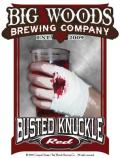Quaff On! (Big Woods) Busted Knuckle Red